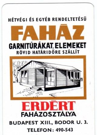 ERDÉRT Faházosztálya - 1973