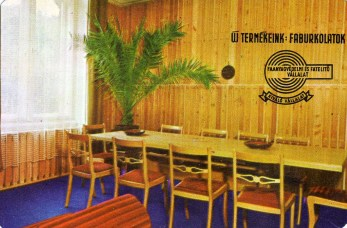 Faanyagvédelmi és Fatelítő Vállalat - 1973