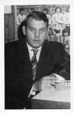 Farkas János, a Jó Pipa Sörbár vezetője (Budapest) - 1982