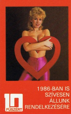 FÜSZÉRT - 10 év (Bíró Ica) - 1986