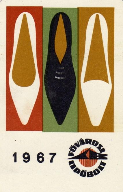 Fővárosi Cipőbolt - 1967