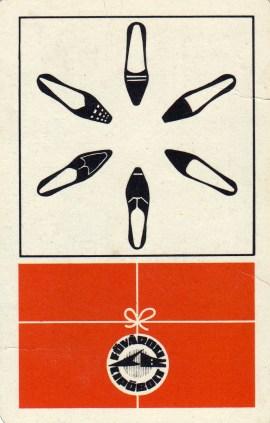 Fővárosi Cipőbolt - 1968