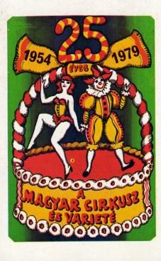 Fővárosi Nagycirkusz - Varieté (25 év) - 1979