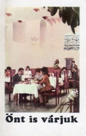 Fogyasztási Szövetkezet - éttermek - 1970
