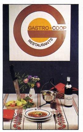 GASTRO-COOP Restaurants - 1986
