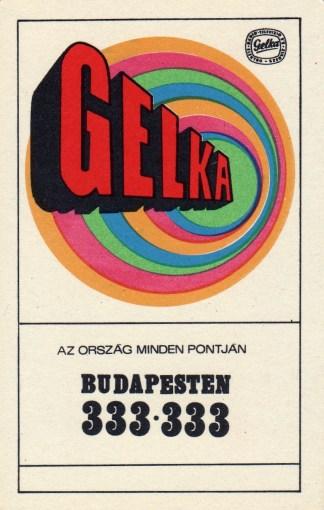 GELKA (4) - 1970