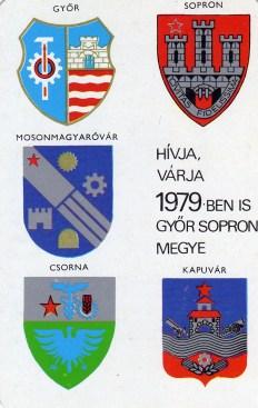 Győr-Sopron Megyei idegenforgalmi Hivatal - 1979