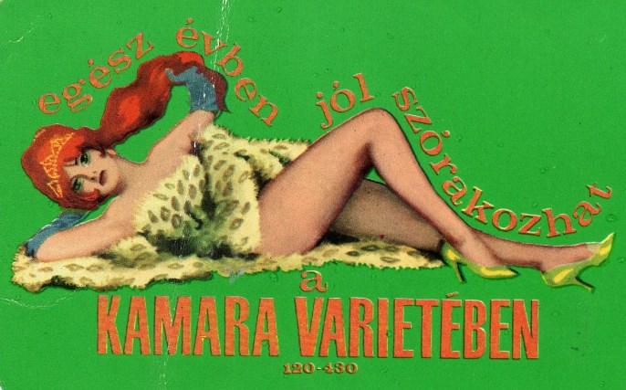 Kamara Varieté - 1970