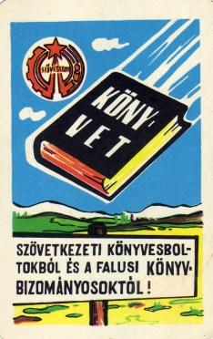 Könyvet Szövetkezeti boltból - 1968