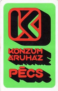 Konzum Áruház - Pécs - 1978