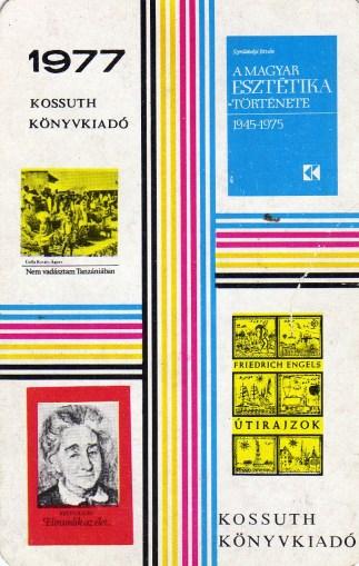 Kossuth Könyvkiadó - 1977