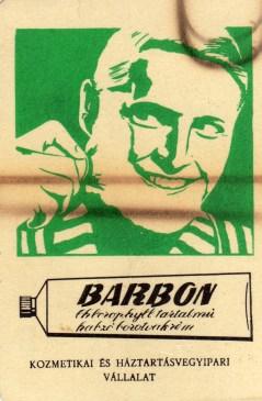 Kozmetikai és Háztartásvegyipari Vállalat (Barbon) - 1971