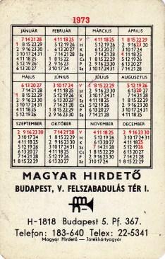 Magyar Hirdető (b) - 1973
