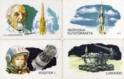 Magyar Néphadsereg - űrhajózás sorozat (1) - 1979