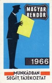 Magyar Rendőr (újság) - 1966