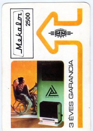 Mechanikai Művek (Kiváló áruk fóruma) - 1979