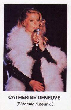 MOKÉP (Catherine Deneuve) - 1981
