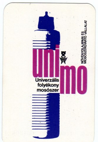 Növényolajipari és Mosószergyártó Vállalat (Unimo) - 1972