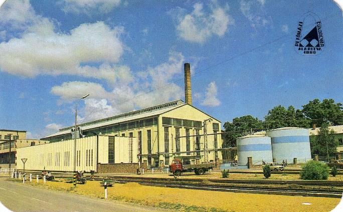 Petőházi Cukorgyár - 1986