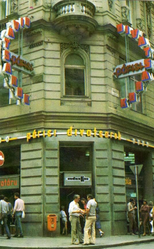 RÖLTEX - Párisi Divatsarok (Budapest) - 1984