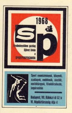 Sportpropaganda - 1968