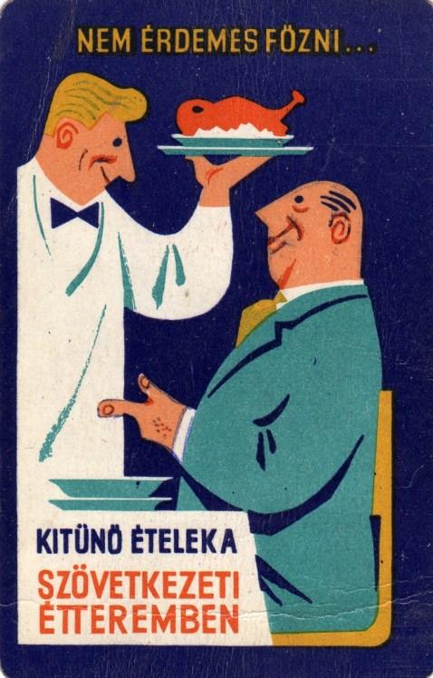 Szövetkezeti éttermek - 1966