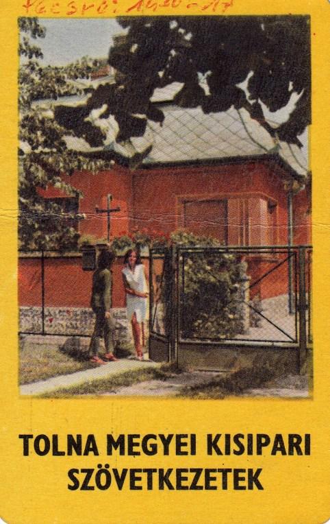 Tolna megyei Kisipari Szövetkezetek - 1969