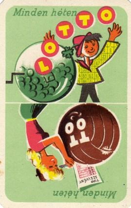 Totó-lottó - 1958