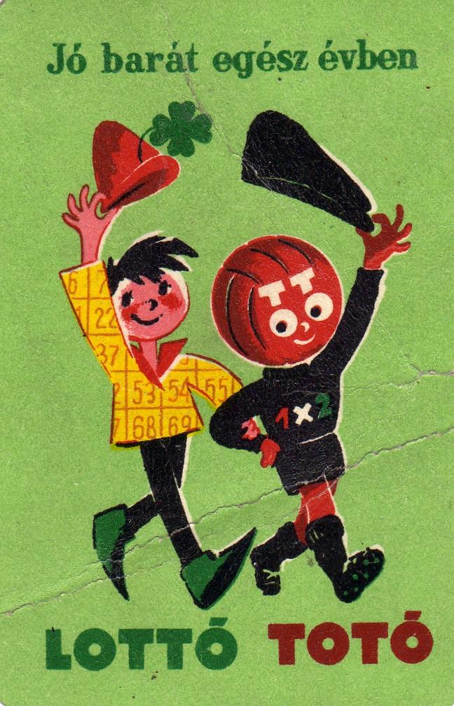 Totó-lottó - 1961