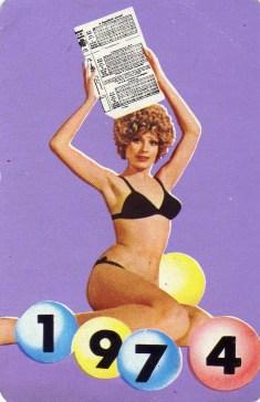 Totó-lottó - 1974