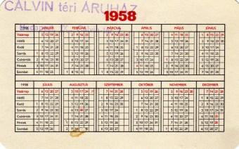 Totó-lottó (b) - 1958