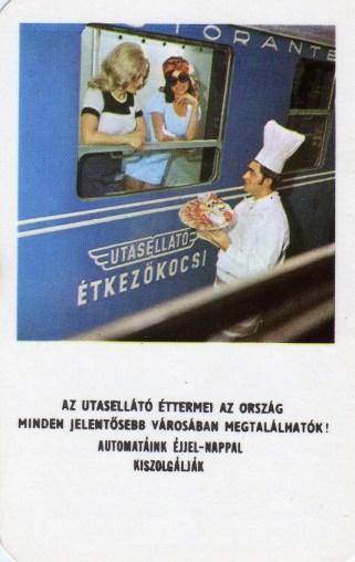 Utasellátó - 1974