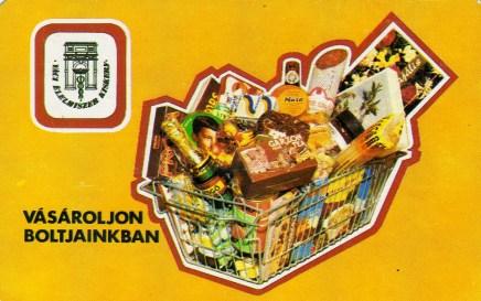 Váci Élelmiszer Kisker Vállalat - 1984