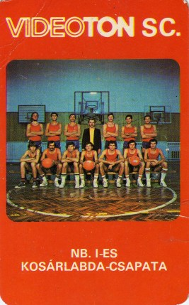 VIDEOTON SC (NB I-es kosárlabda-csapat) - 1981