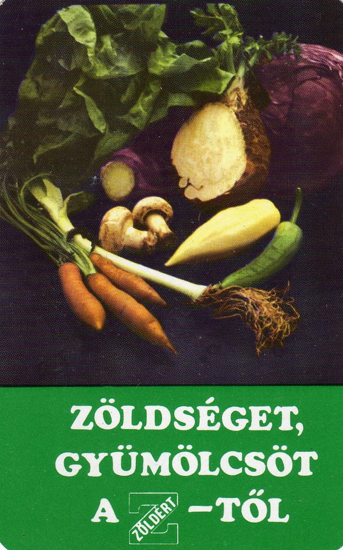 ZÖLDÉRT - 1984