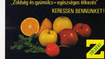 ZÖLDÉRT - 1988