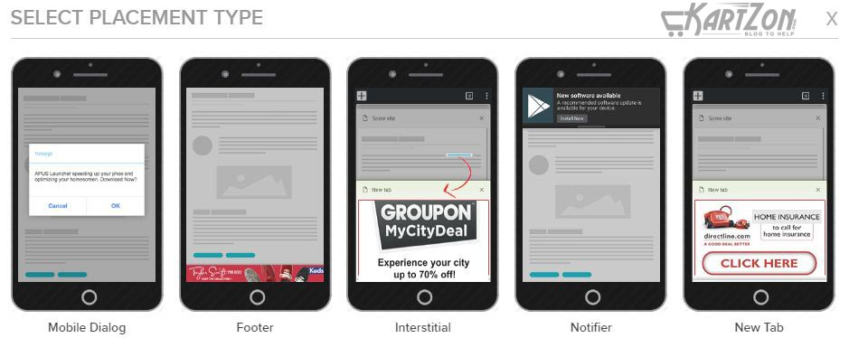 Mobile Placeme type