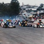 Vitão largando em 4º no Campeonato Paulista, 1990