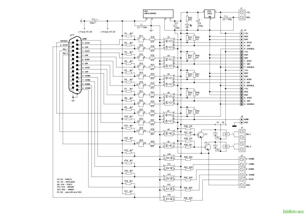 medium resolution of a cnc breakout board karu sisemus rh karusisemus wordpress com mach3 cnc breakout board circuit potentiometer led breakout board