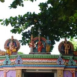 Photos d'un temple de Draupadi (source : blog.thitherwards.com/draupadi)