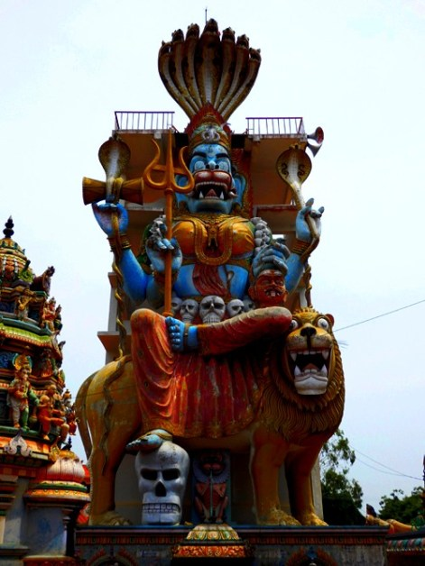 Sri Pratyangira Temple, Pondicherry