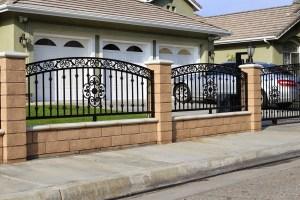 pagar besi yang mewah minimalis jogja yogyakarta pembuatan bengkel las karya arsitek
