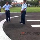Pengaspalan Helipad TNI AU Cirebon