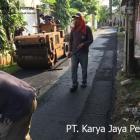 Pengaspalan Komplek Kehakiman Tangerang