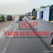 Pengaspalan Skadron Atang Sanjaya Bogor
