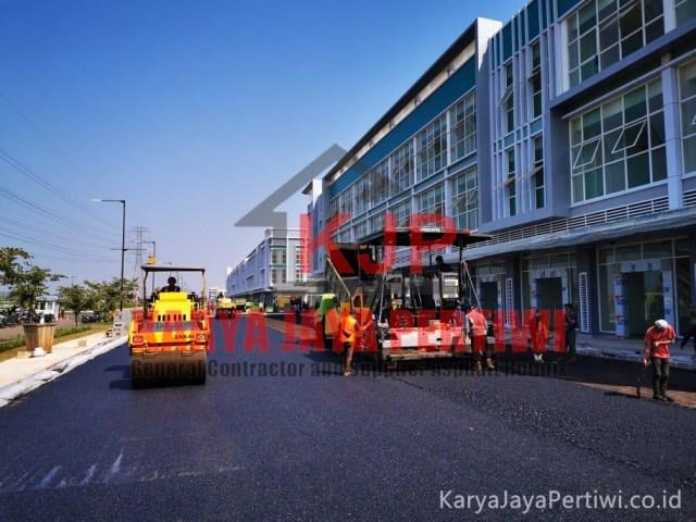 Pengaspalan Perumahan Summarecon Gedebage Bandung, Kontraktor pengaspalan perumahan bandung, kontraktor jalan perumahan bandung, jasa perbaikan jalan bandung