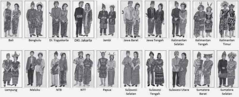 3 Pakaian Adat Jawa Timur Dilengkapi Penjelasan Dan Gambar