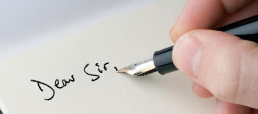 Cara membuat surat resmi
