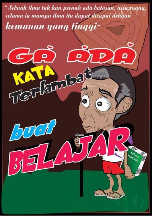 Contoh poster tentang pendidikan