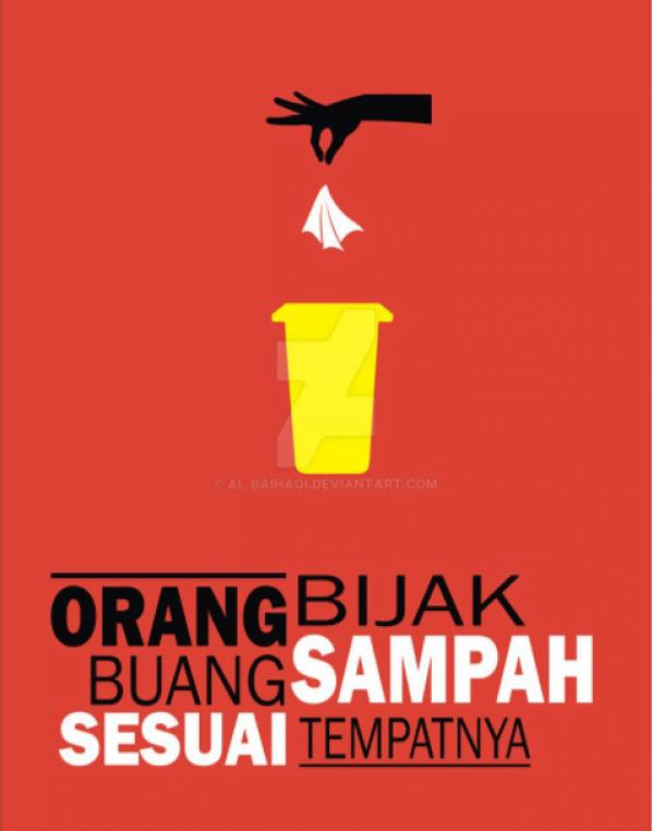 57 Contoh Poster Dan Slogan Dengan Ide Cemerlang Kreatif